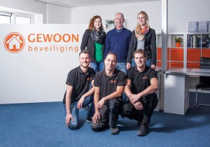 GEWOON beveiliging team